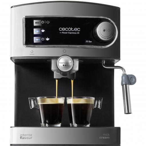 Cafetera Cecotec Power Espresso Inox