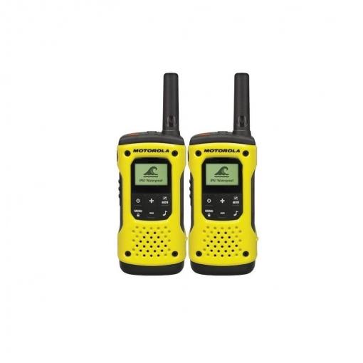 Walkie Talkies Motorola T92 H2O – Amarillo