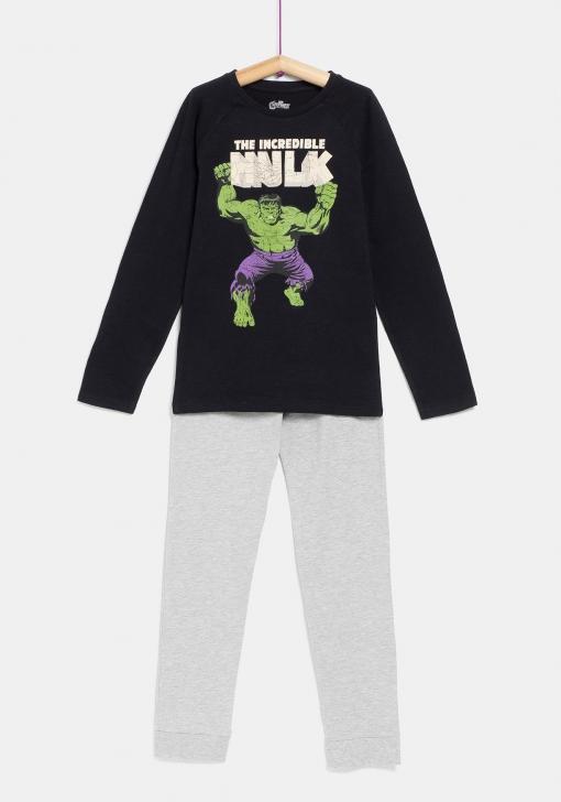 mejor mayorista baratas para la venta diseño popular Pijama de dos piezas Hulk de MARVEL