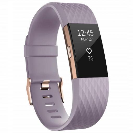 9f0f91344032 Pulsera de Actividad Fitbit Charge 2 Pequeña - Rosa