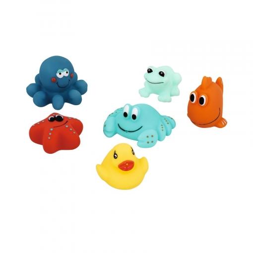 Set de 6 Juguetes de Baño Bebé Confort