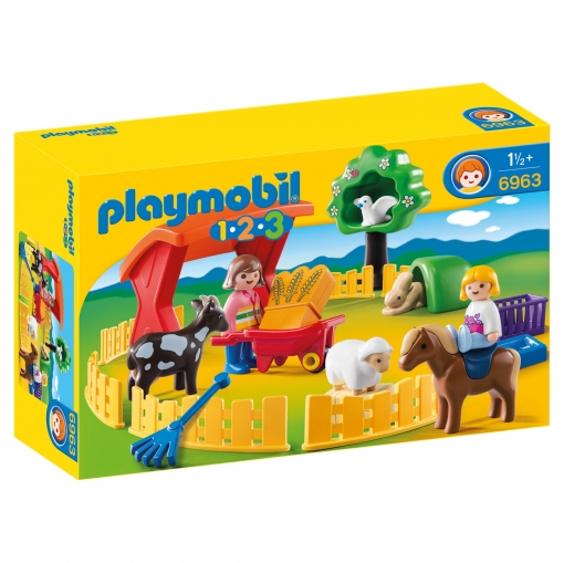 Playmobil - 1.2.3 Recinto de Animales