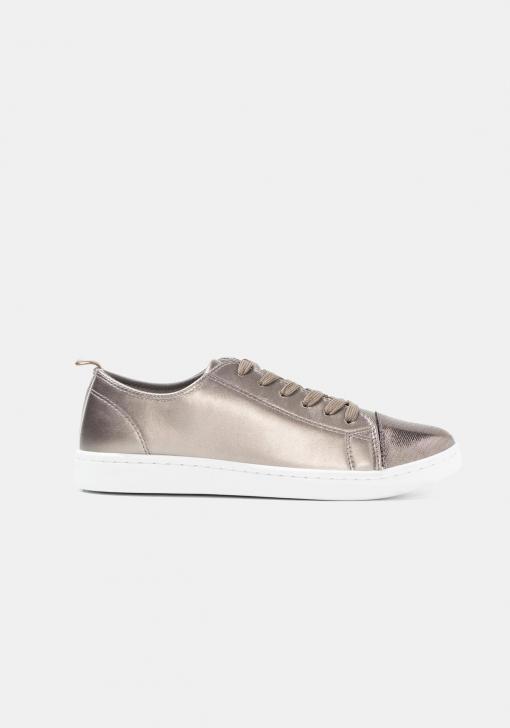 Zapatos deportivos metalizados TEX