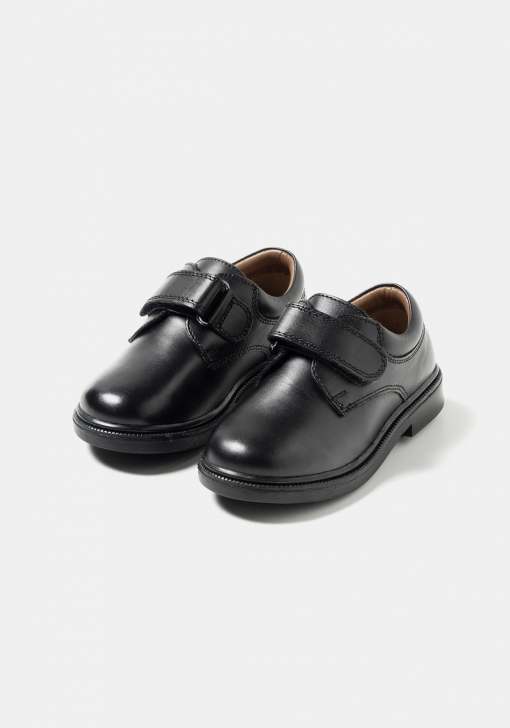 Zapatos colegiales de piel TEX (Tallas 25 a 30)