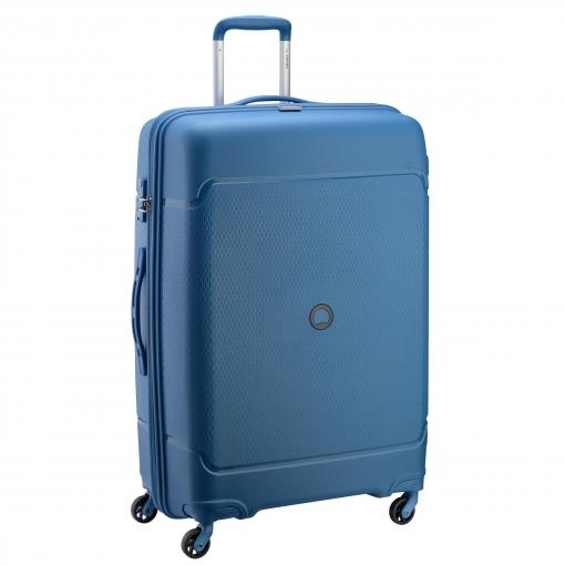 4bdf2fa90 Trolley 76 Cm Polipropileno TSA 4 Ruedas Azul | Las mejores ofertas ...