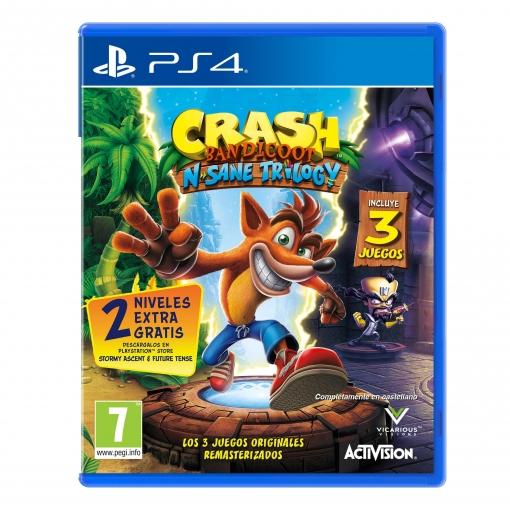 Crash Bandicoot N Sane Trilogy Para Ps4 Las Mejores Ofertas De