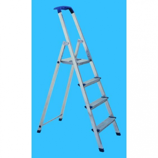 Escalera 4 Peldaños Brico Aluminio