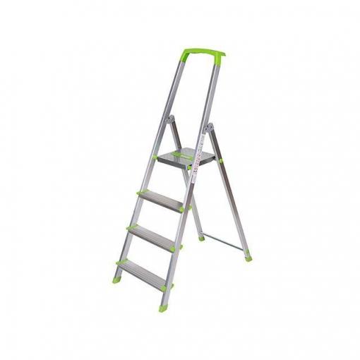 Escalera de aluminio 4 pelda os carrefour las mejores ofertas de carrefour - Escaleras de peldanos ...