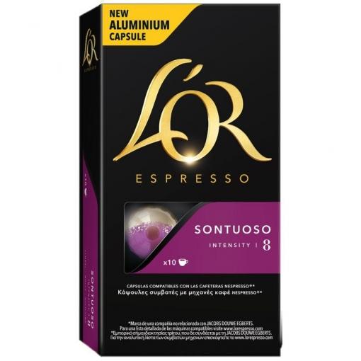Cafe Espresso En Capsulas Lor Sontuoso 10 Ud Las Mejores