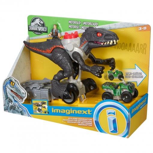 7581f9431 Imaginext - Jurassic World Indorraptor Perseguidor, Dinosaurio de Juguete