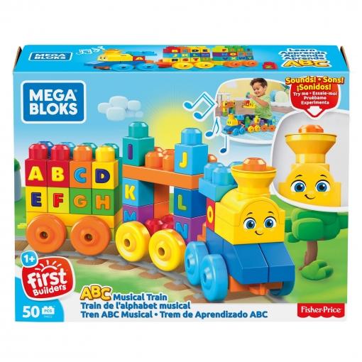 90436688c Mega Bloks - Tren Musical Abc, Juguete con Bloques de Construcción ...