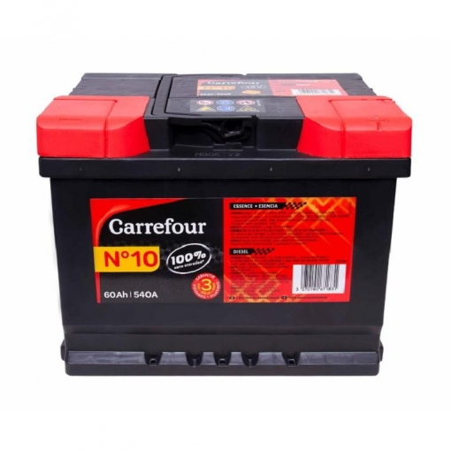 Bateria De Coche Carrefour Nº10 60ah Las Mejores Ofertas De
