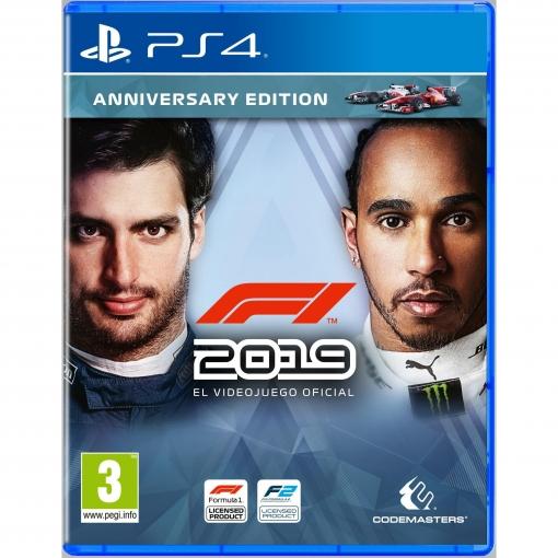 F1 2019 Anniversary Edition para PS4