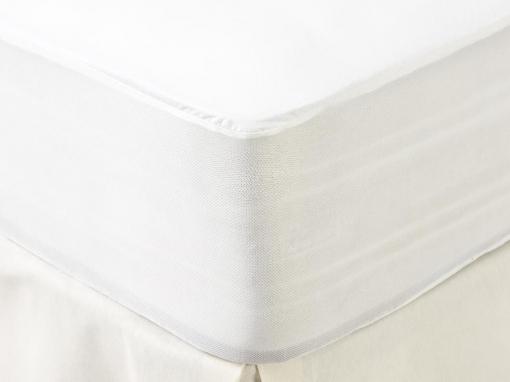 Protector de Colchón Liso Impermeable TEX HOME 135 cm Blanco