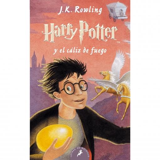 Harry Potter y el Caliz de Fuego. J.K.ROWLING. (Edición Bolsillo)