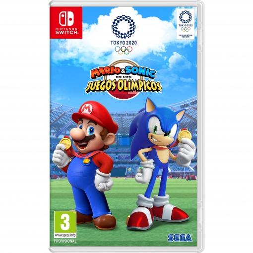 Mario Sonic Jjoo Tokyo 2020 Para Nintendo Switch Las Mejores Ofertas De Carrefour