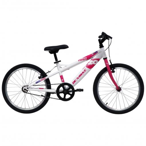 Bicicleta MTB 20'' Rosa-Blanca