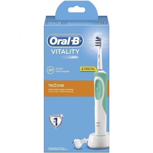 Cepillo de dientes eléctrico Braun Oral-B Trizone Vitality  27f584cd1f9b