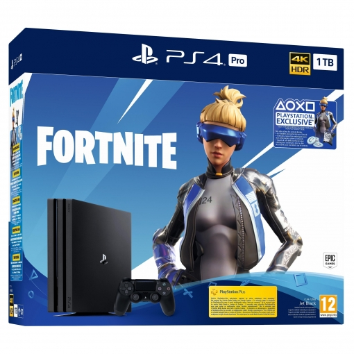 PS4 Pro 1TB con Fortnite