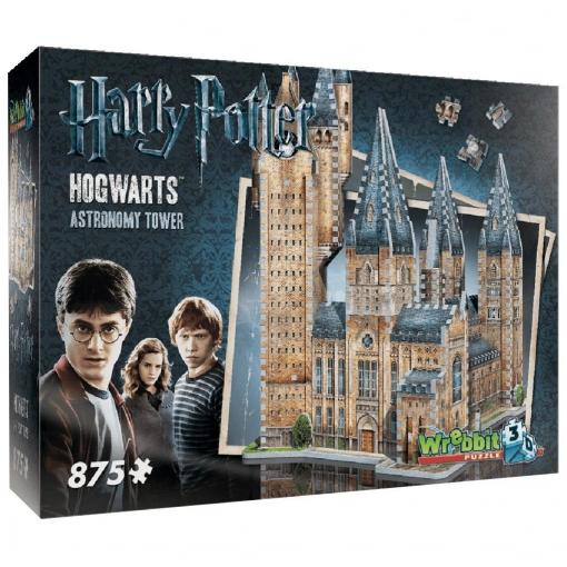 Harry Potter - Puzzle 3D Hogwarts La Torre de Astronomía 875 pzas