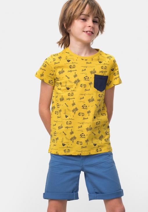 Camiseta estampada de Niño TEX