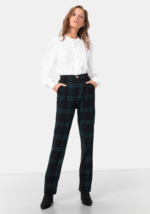 Pantalón de cuadros Rocío Osorno