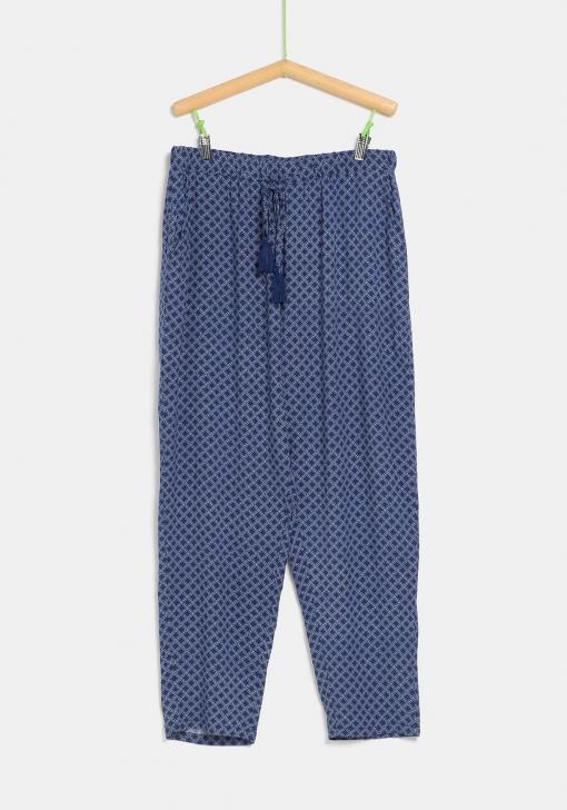 Pantalón fluido para tallas grandes de Mujer TEX
