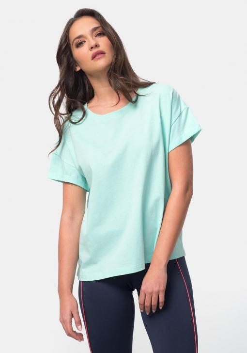 Camiseta lisa de deporte para Mujer TEX