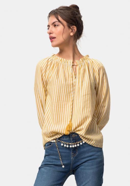 Blusa de rayas con lurex para Mujer TEX