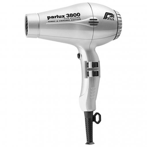Secador de Pelo Parlux 3800 Compact Ceramic&Ionic, Plata