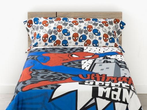 Funda Nordica Spiderman Carrefour.Funda Nordica Dos Piezas Spiderman Popart Cama 90 Cm