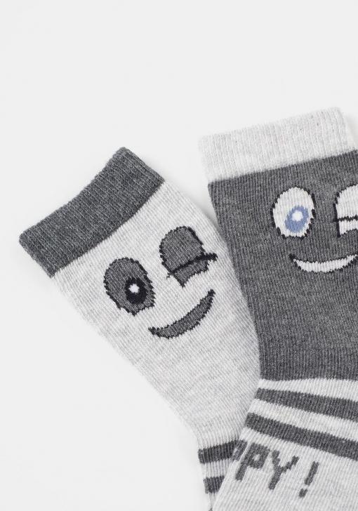 Pack tres calcetines estampados Unisex TEX