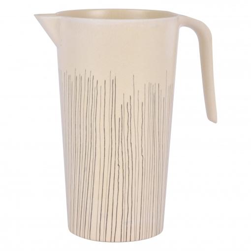 Jarra Bambú con Líneas 12 x 21cm