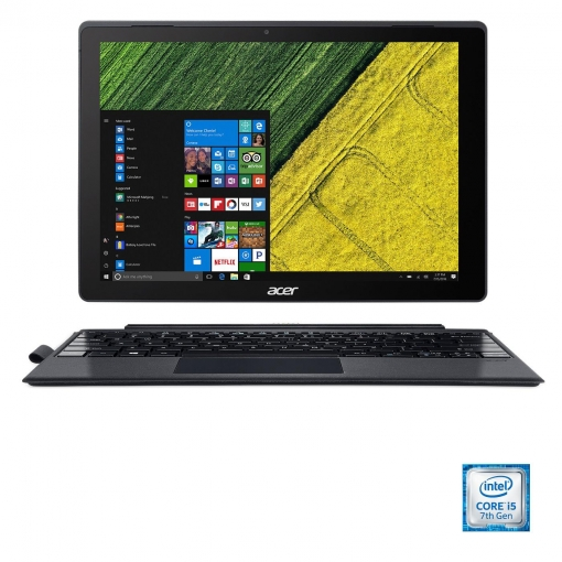 Convertible 2 en 1 Acer Switch 5 SW512-52-51MH con i5, 8GB, 256GB, 30,48 cm - 12'' con Active Stylus. Outlet. Producto Reacondicionado