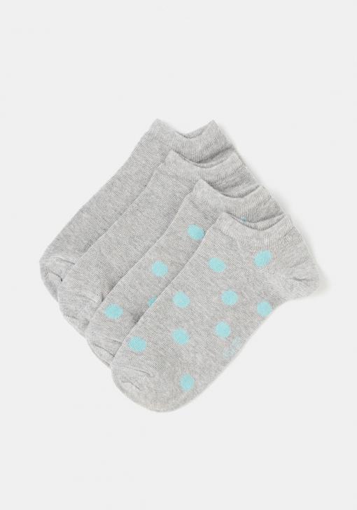 Pack dos calcetines invisibles para Mujer TEX