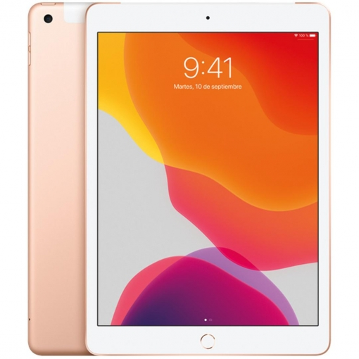 "iPad 25,91 cm - 10,2"" con Wi-Fi y Cellular 128GB Apple - Oro"