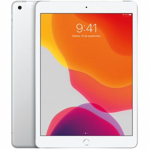 "iPad 2019 25,91 cm - 10,2"" con Wi-Fi y Cellular 128GB Apple - Plata"