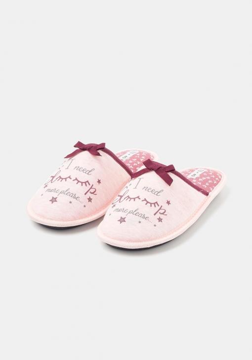Zapatillas de estar por casa estampadas para Mujer TEX