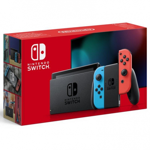 Nintendo Switch V2 - Rojo/Azul Neon
