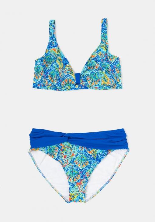 Bikini Estampado Para Tallas Grandes De Mujer Tex Las Mejores Ofertas En Moda Carrefour Es