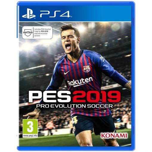 Pro Evolution Soccer 2019 Para Ps4 Las Mejores Ofertas De Carrefour
