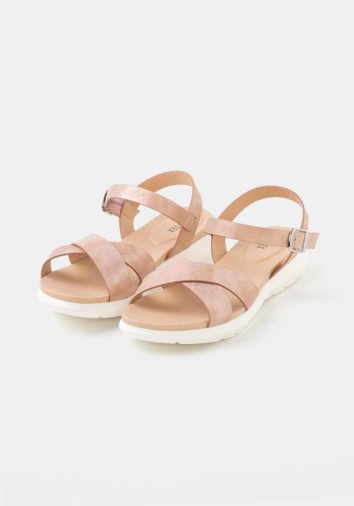 Sandalias planas cruzadas para Mujer TEX