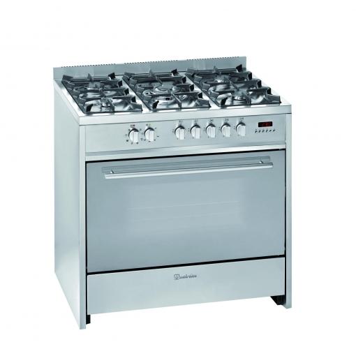 Cocina De Gas Con Horno Eléctrico Meireles E911X