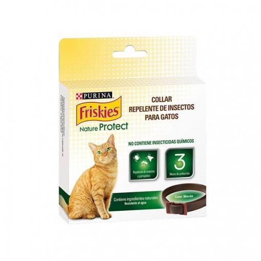 Collar para Gato Purina Friskies Nature Protect Repelente Herbal ...