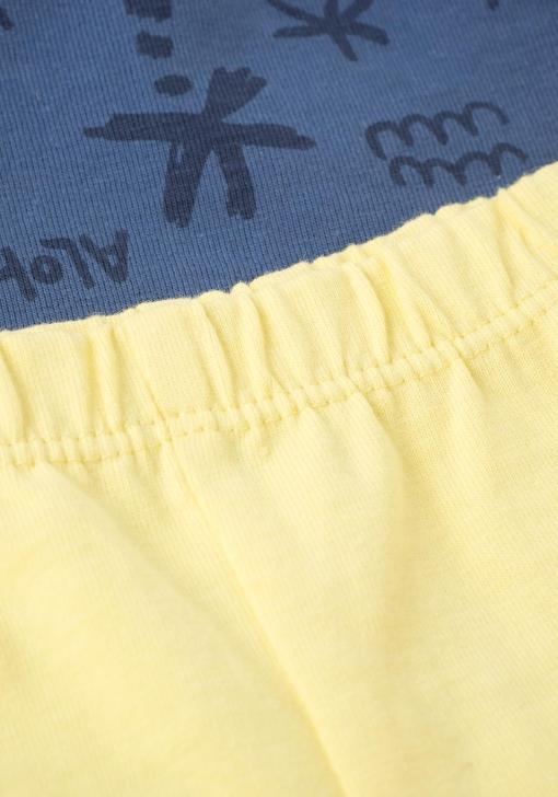 Pack dos pantalones cortos combinados de Bebé TEX