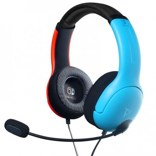 Auriculares Gaming VL40 para Nintendo Switch - Azul/Rojo