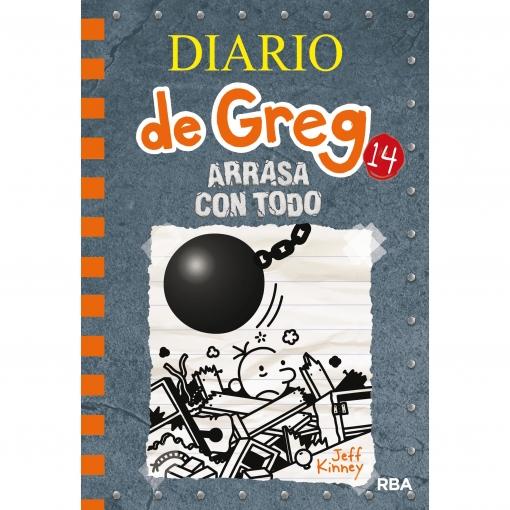 Diario de Greg 14: Arrasa con Todo. JEFF KINEY