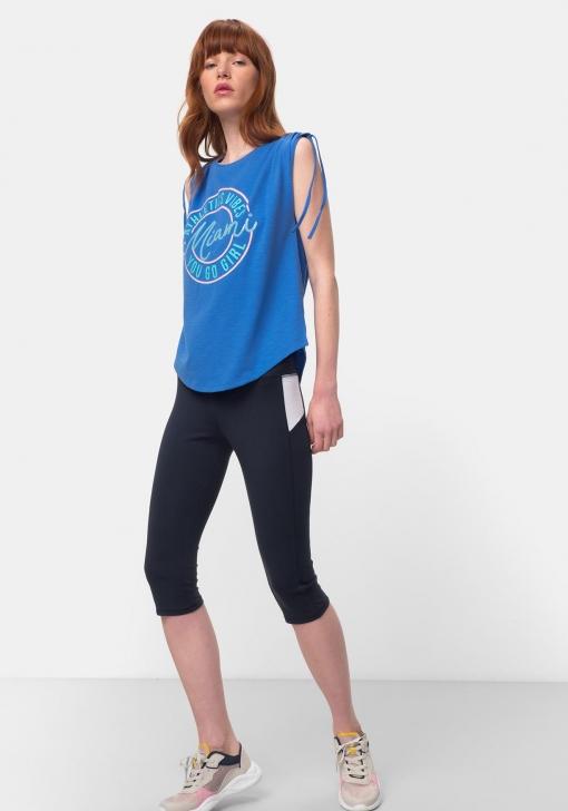 Camiseta de deporte estampada para Mujer TEX