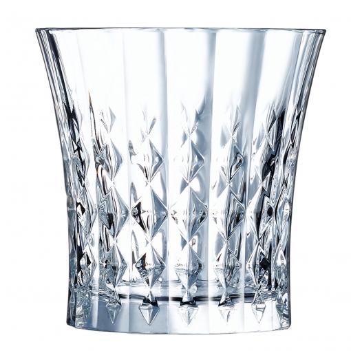 Set de 6 Vasos Vidrio ECLAT Lady Diamond 27 cl - Transparente