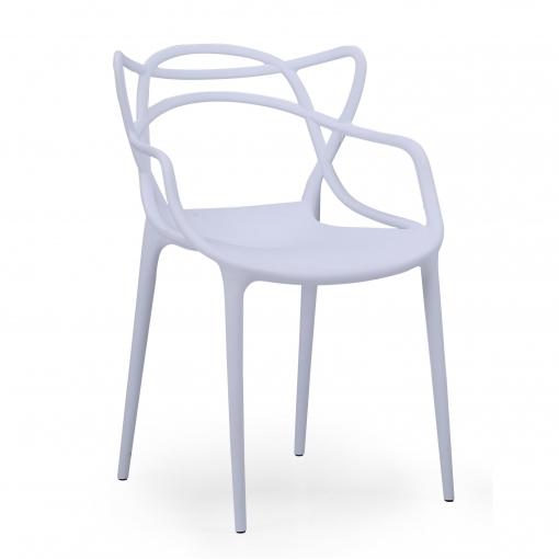 precio silla blanca de plastico carrefour